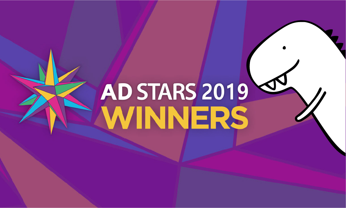 Dinosaur Vietnam wins 2 Bronze and 2 finalists at Adstars 2019